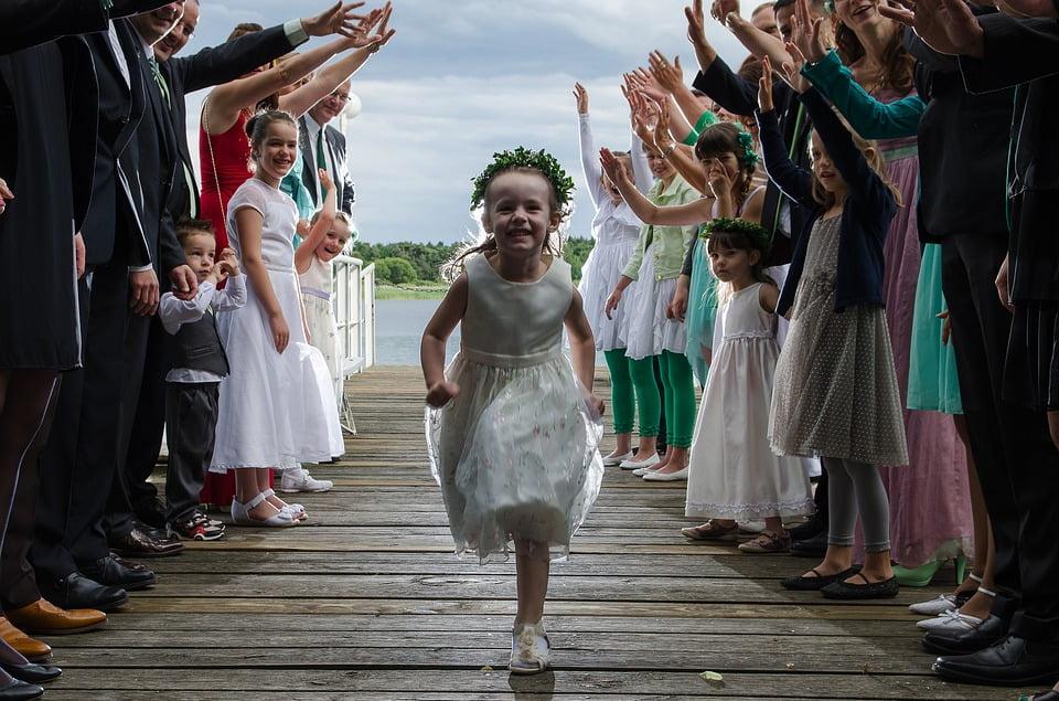 wesele z dziećmi